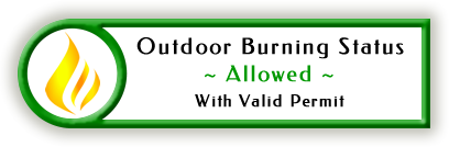 Outdoor Burning Allowed