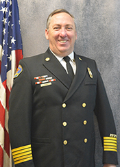 Fire Chief John Cermak